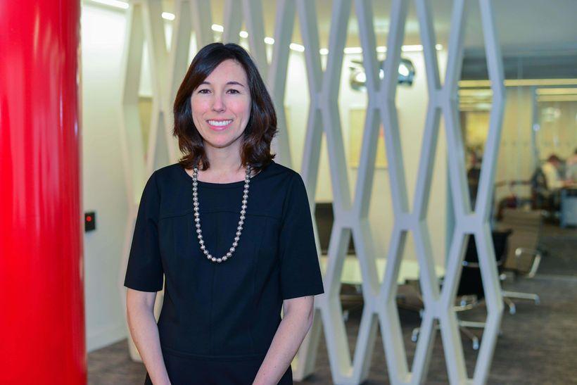Nicole Hazard, AXA's Head of HR Strategy, Analytics and Innovation
