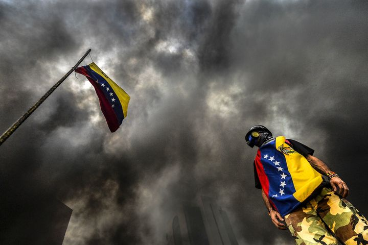 Venezuela has turned it into a dark dystopian nightmare.