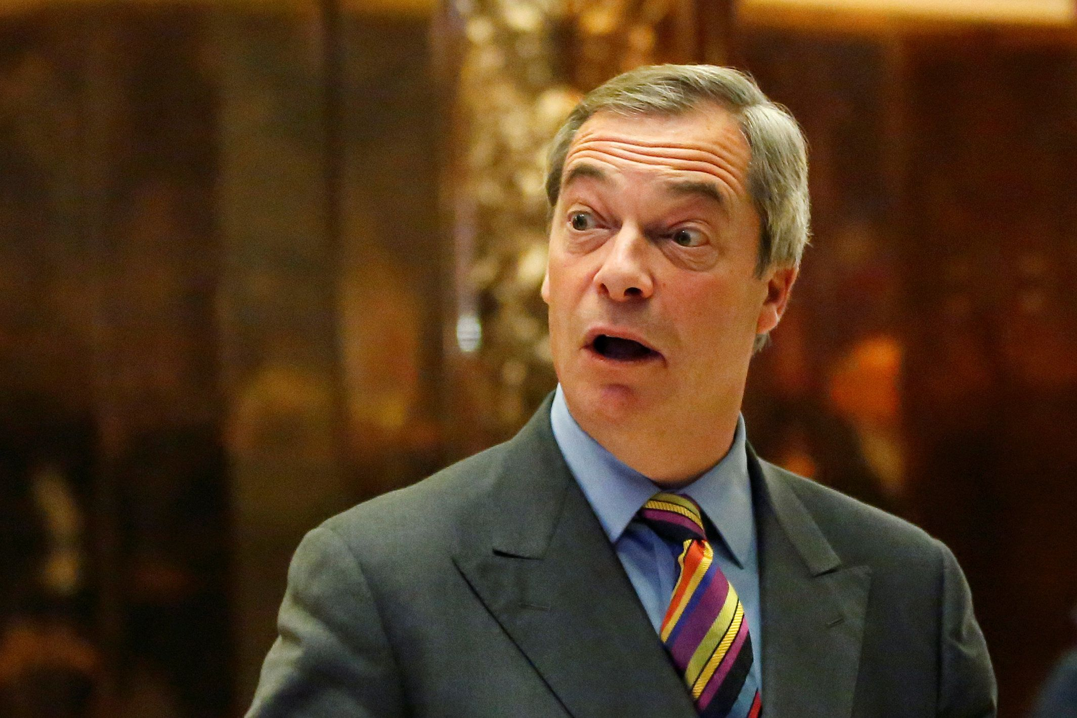 Nigel Farage Says Claims He Is 'Person Of Interest' In FBI Trump/Russia Probe Are