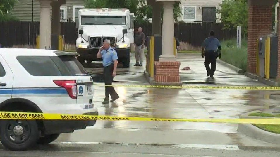 An armored truck guard was ambushed and killed during an apparent armed robbery in New Orleans on Wednesday