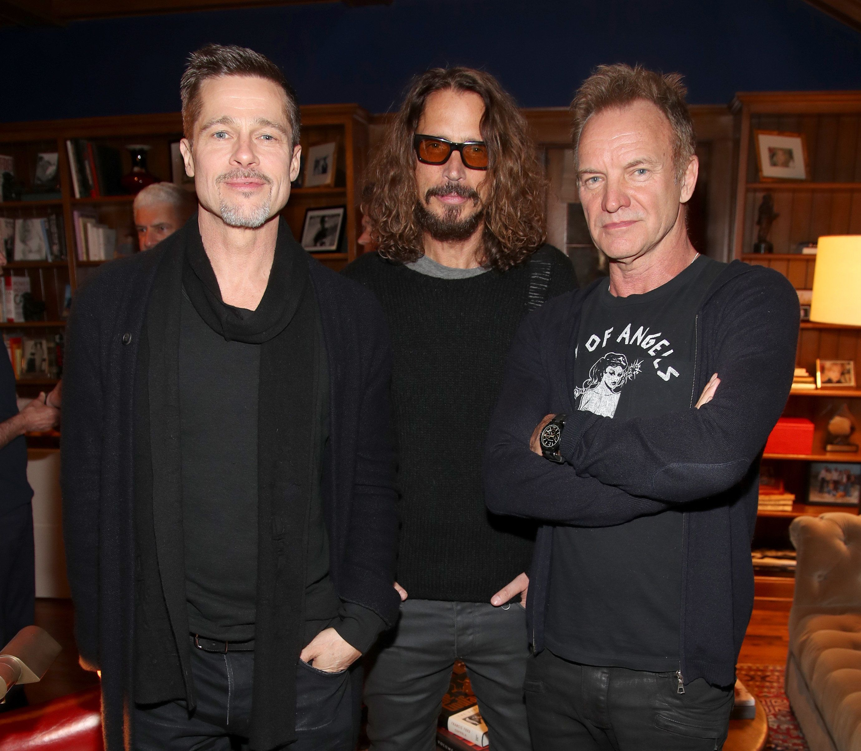 MALIBU, CA - JANUARY 14:  Alex & Ani host ROCK4EB! with Sting and Chris Cornell at EBMRF Benefit on January 14, 2017 in Malibu, California.  (Photo by Randy Shropshire/Getty Images for EBMRF)