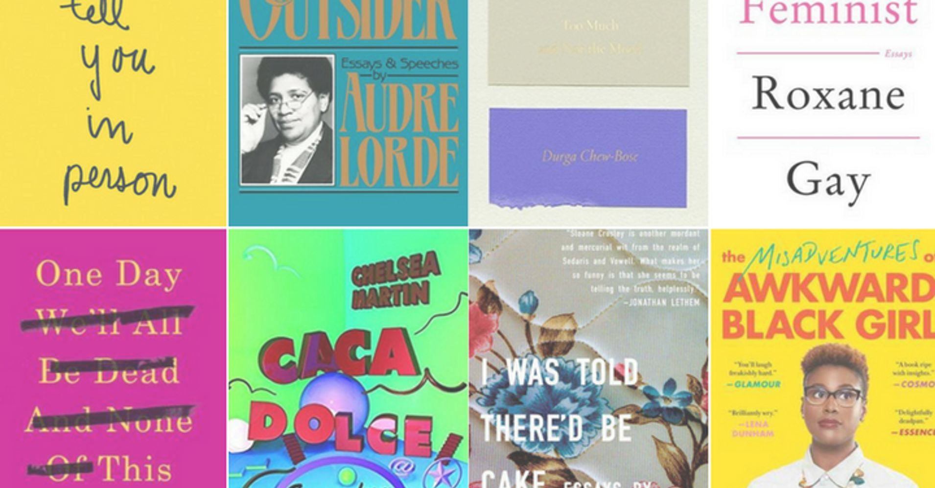 12 essay collections by women to get you through your 20s huffpost