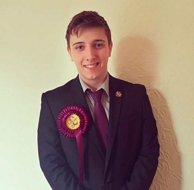 Nathan Ryding says he has convinced a number of friends at college to vote