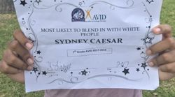 Black Student Receives 'Most Likely To Blend In With White People'