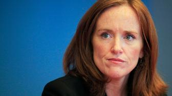 District attorney Kathleen Rice is pictured in New York September 9th 2010. Rice, the district attorney for Nassau County, is one of five Democratic candidates competing in the Democratic primary for New York attorney general.  REUTERS/Eric Thayer (UNITED STATES - Tags: POLITICS ELECTIONS HEADSHOT)