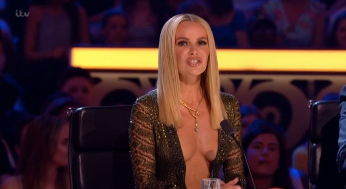 Amanda Holden's 'Britain's Got Talent' Outfit Causes A Stir As David Walliams Jokes Its