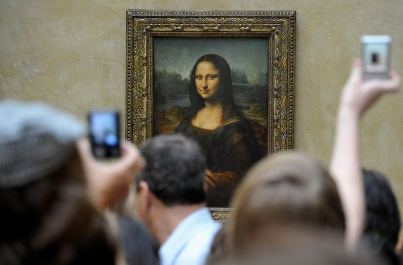 The Mona Lisa, which I saw at my time in Paris at the L'ouvre