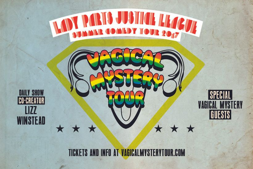 The Vagical Mystery Tour kicks off an eight-week tour in 16 cities