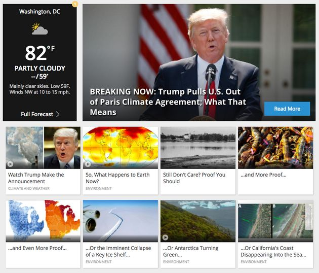 The Weather Channel Is Not Messing Around When It Comes To Climate