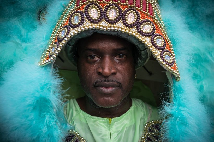 Shaka Zulu has been picked by Darryl Montana to become the next Big Chief of the Yellow Pocahontas Black Masking Indian Tribe