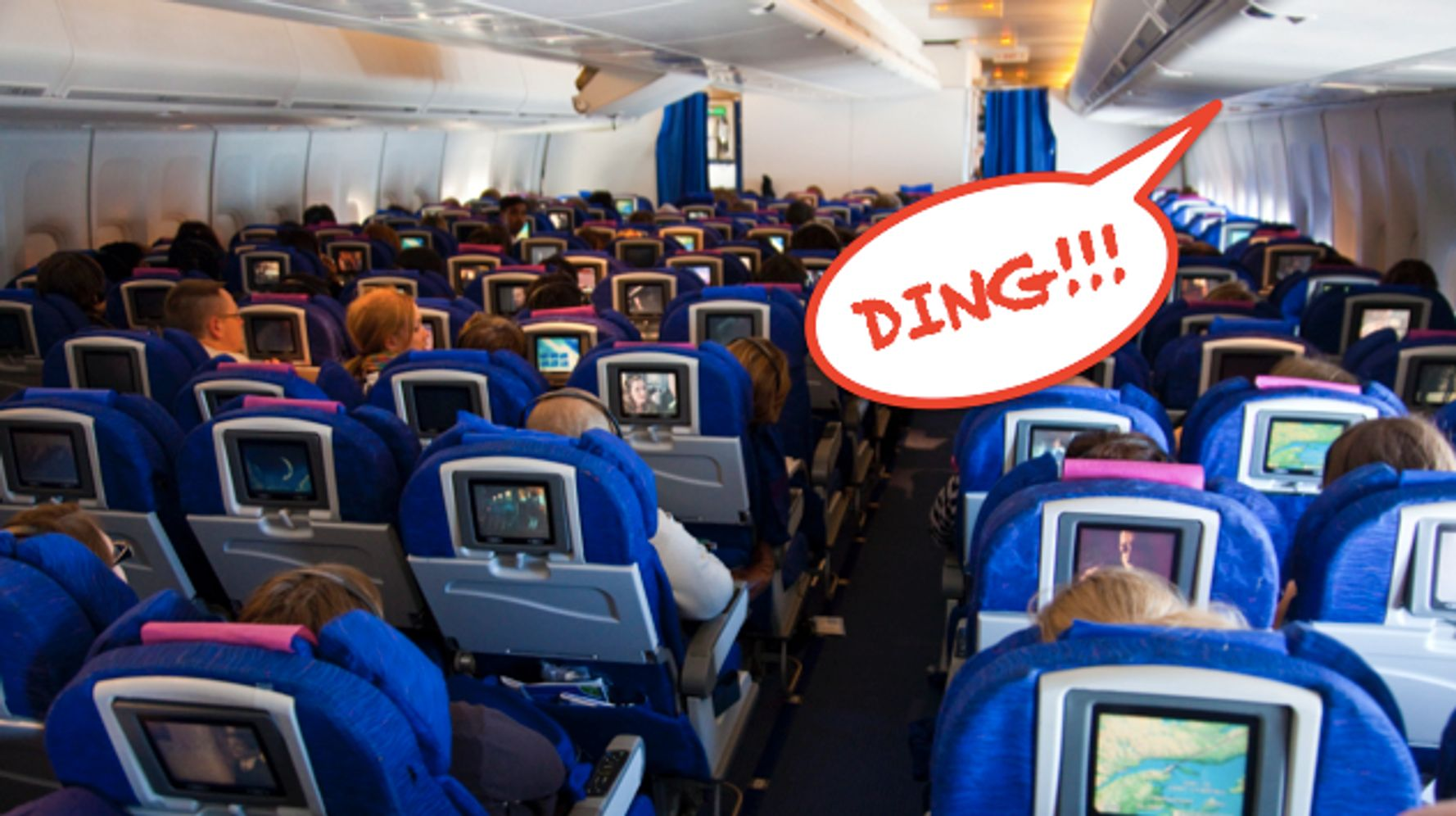 So THAT'S What Those 'Ding' Sounds During Flights Are All