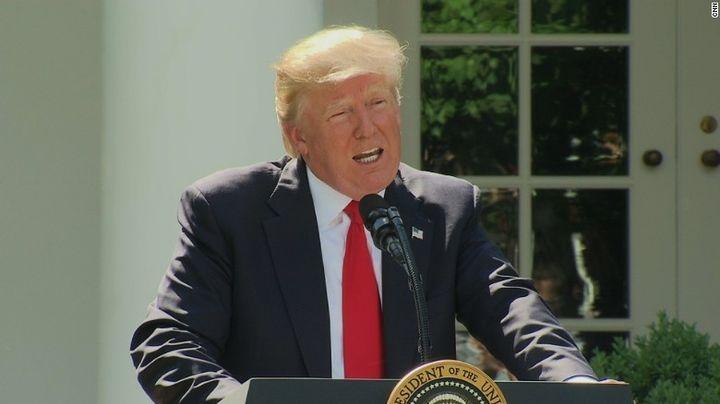 "Trump <a rel=""nofollow"" href=""http://www.huffingtonpost.com/entry/donald-trump-paris-agreement-global-warming_us_593030dae4b0"