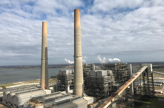 Coal-fired plants, such as this one in Texas, are not mentioned in the Paris