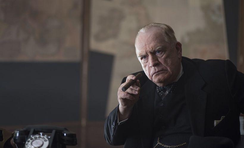 Brian Cox as Sir Winston Churchill.