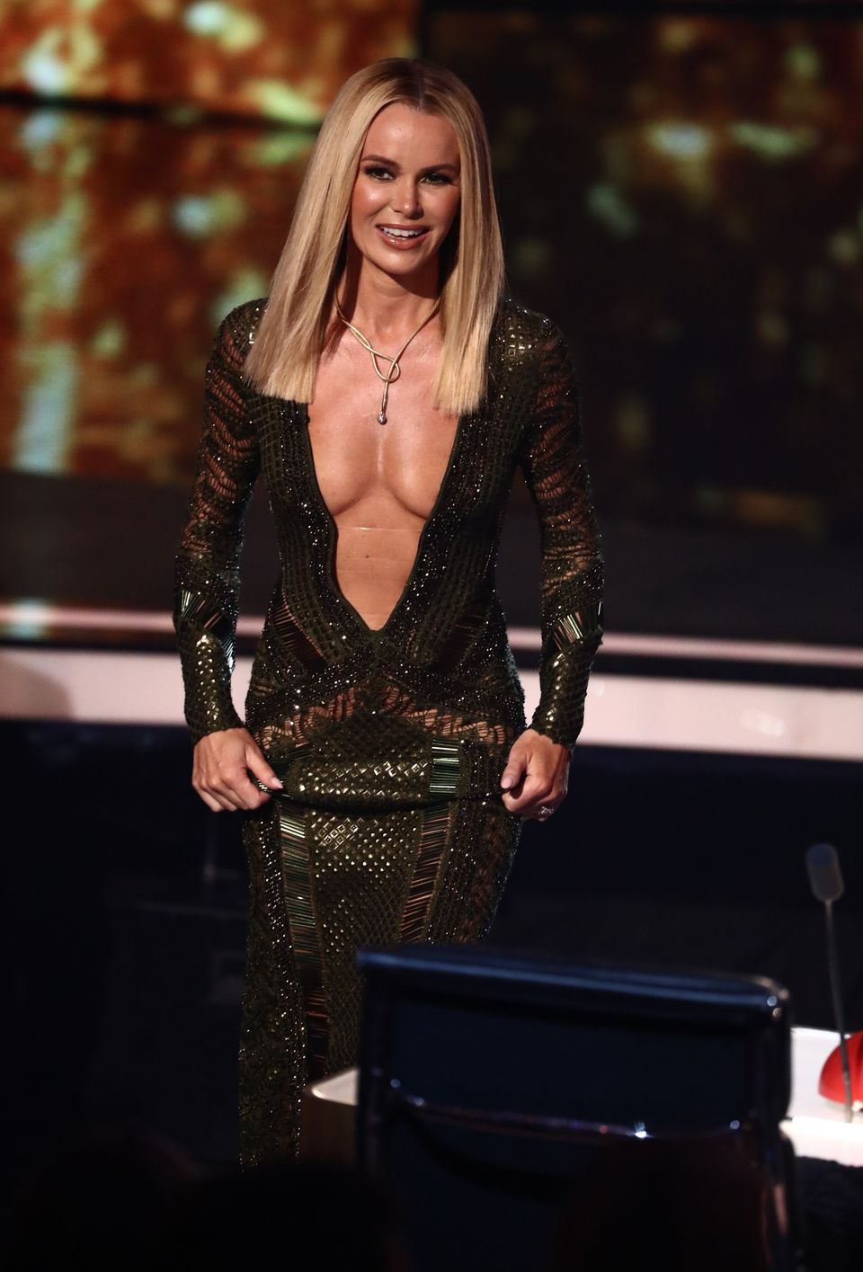 Amanda's Britain's Got Talent outfits are always a talking