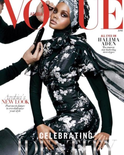 Halima Aden Makes History As First Hijab-Wearing Model On Vogue's