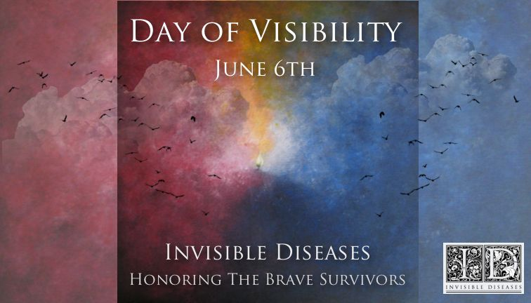 """Go to <a rel=""""nofollow"""" href=""""https://www.InvisibleDiseases.com"""" target=""""_blank"""">www.InvisibleDiseases.com</a> for informatio"""