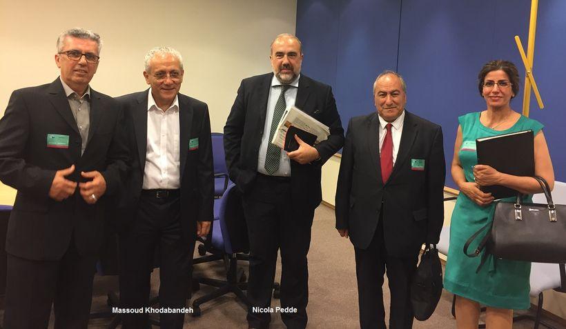 مسعود خدابنده علی اکبر راستگو پارلمان اروپا