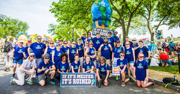 Ben & Jerry's took to the street at the People's Climate March in Washington D.C.