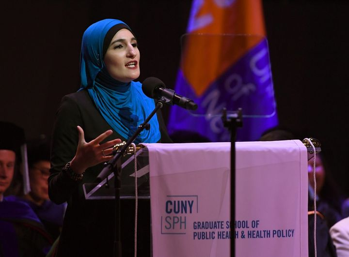 Linda Sarsour was a co-organizer of the National Womens March and one of TIME Magazines 100 Most Influential People.