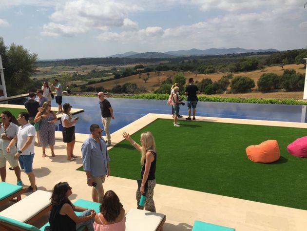 39 love island 39 34 secrets from inside 2017 39 s brand new villa for Garden state pool scene quote
