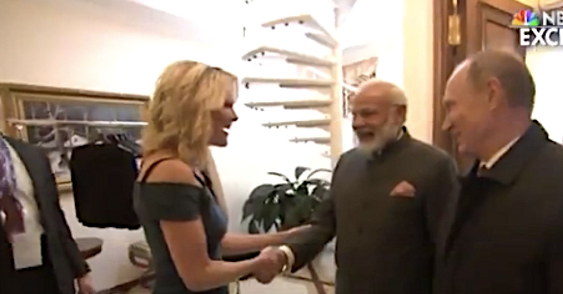Megyn Kelly Makes The Mistake Of Asking Indian Prime Minister If