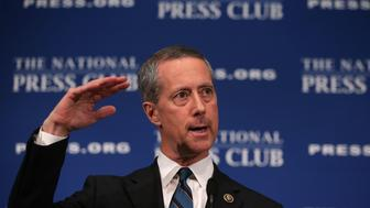WASHINGTON, DC - JANUARY 13:  Chairman of the House Armed Services Committee Rep. Mac Thornberry (R-TX) speaks during a National Press Club Newsmaker Luncheon January 13, 2016 in Washington, DC. Rep. Thornberry spoke on national security and responded to President Obama's final State of the Union address.  (Photo by Alex Wong/Getty Images)