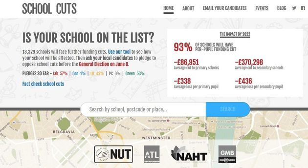 The schoolcuts.org.uk