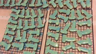 Mom Bakes '1' Cookies For Son's First Birthday And They Look Like This