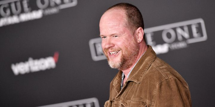"Whedon at the premiere of ""Rogue One: A Star Wars Story' on December 10, 2016."