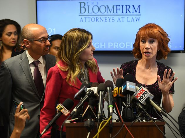 Kathy Griffin Slams Trump Family For Bullying Her On Social