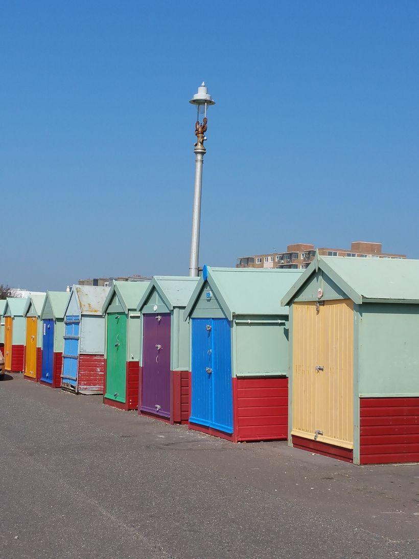 Hove Beach Huts, UK