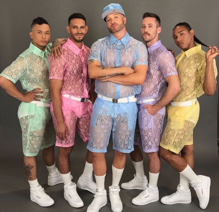 These Lace Shorts For Men Are Coming For The RompHim | HuffPost
