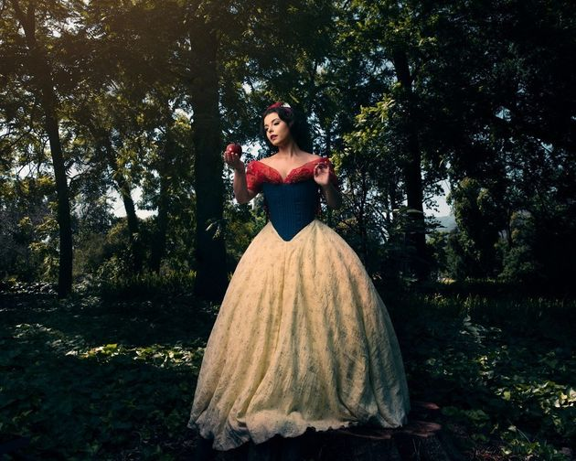 Snow White as depicted by model Amber