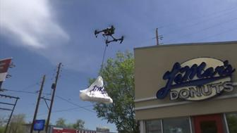 Lamars Donuts now offers donut delivery via drone