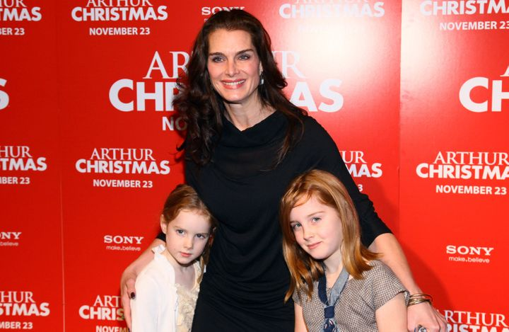 Brooke Shields has two daughters, Rowan and Grier.