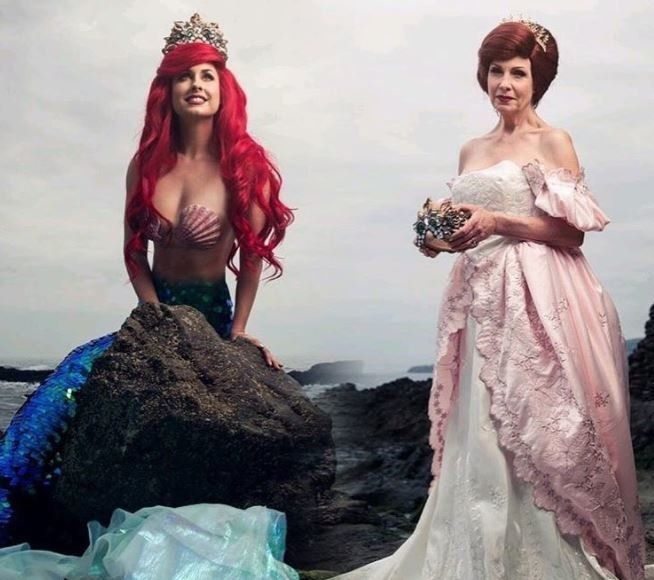Gorgeous Photos Show Disney Princesses Reimagined Years Later As