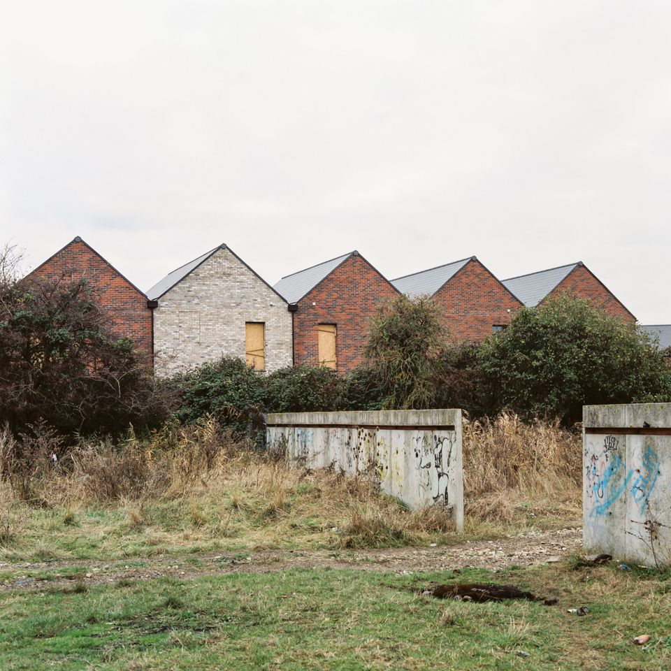 A row of houses in Tilbury on Dec. 2,