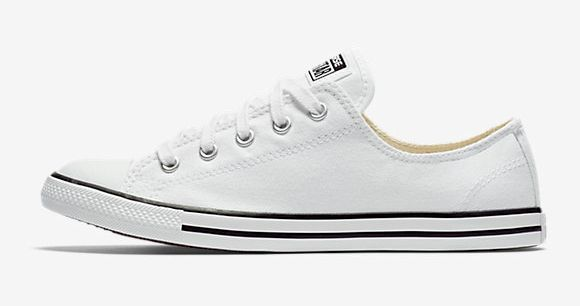 "<i>Converse Chuck Taylor all star dainty low top, <a href=""http://store.nike.com/us/en_us/pd/converse-chuck-taylor-all-star-d"