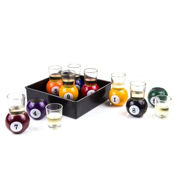 "If Dad likes to play pool, he will certainly appreciate <a href=""https://www.overstock.com/Home-Garden/Pool-Ball-Shots-Drinki"