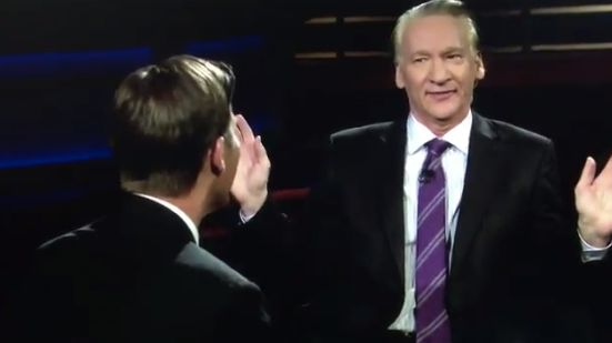Bill Maher Jokes He's A 'House N****r' On 'Real