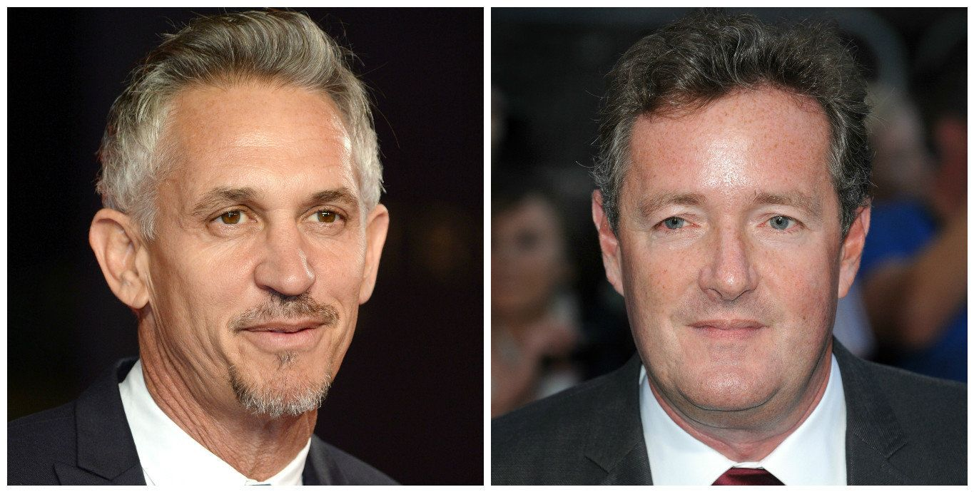 Gary Lineker And Piers Morgan In Twitter Spat Over Nuclear