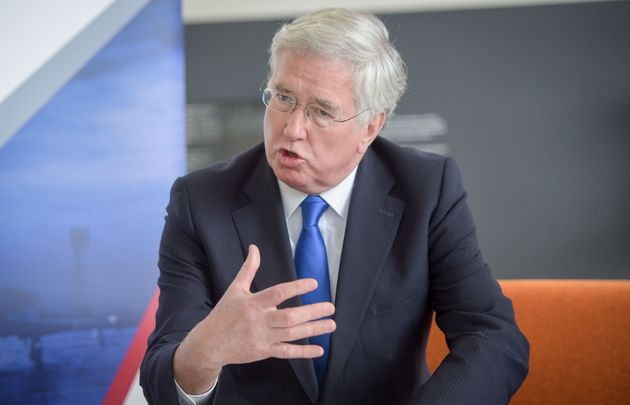 Defence Secretary Sir Michael Fallon said high earners will not face income tax rises if Theresa May...
