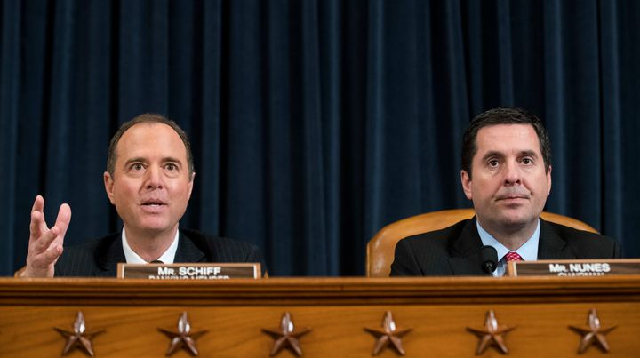 Rep. Adam Schiff (D-Calif.), the ranking Democrat on the House Intelligence Committee, says the panel's chairman, Rep. D