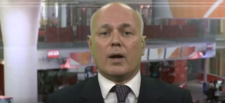 Iain Duncan Smith Had A Rather Unfortunate Slip Of The Tongue While Talking About Tory