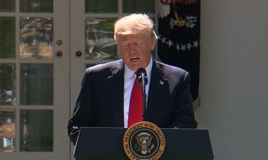 President Trump Makes a Statement Regarding the Paris Accord  June 1, 2017
