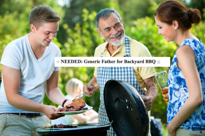 'Generic' Dad Needed For A BBQ In Hilarious Craigslist Ad ...