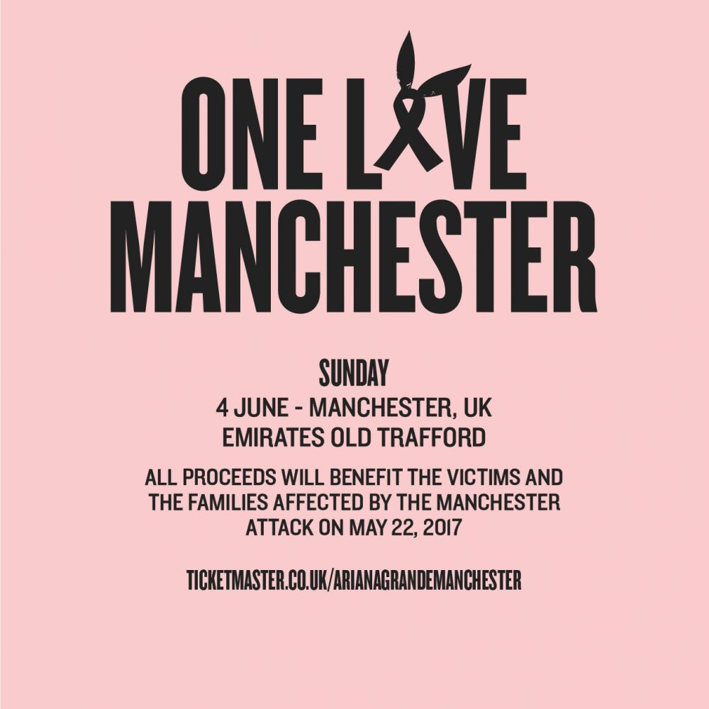 One Love Manchester Benefit Concert WILL Go Ahead After London Terror