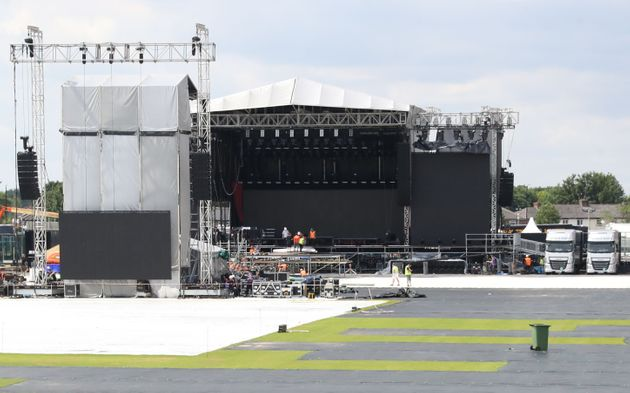 The One Love Manchester gig will take place at  the Emirates Old Trafford cricket