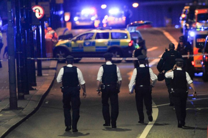 Seven people were killed in a terror attack on the capital last night